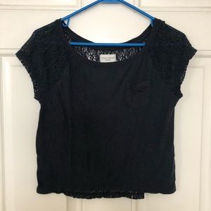 Gilly Hicks Blue Crop Top Size XS